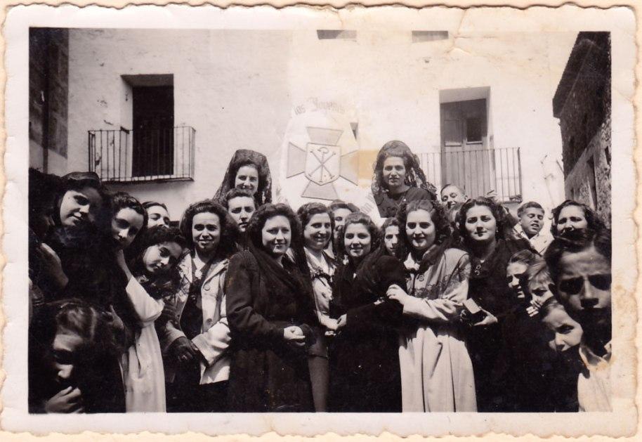 Joves d'Acció catòlica.