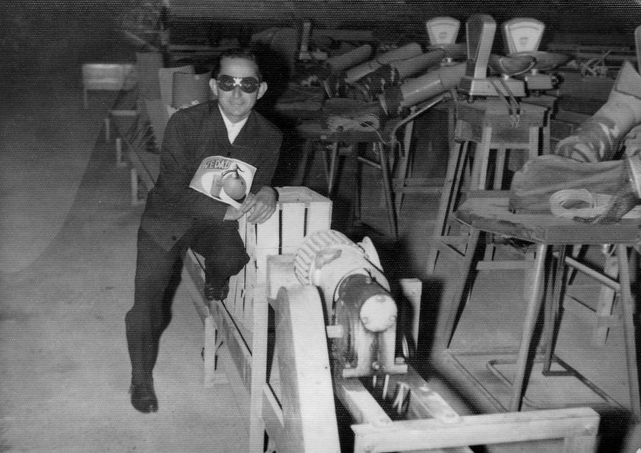 """José Silvestre a """"l'almacén"""" d'una cooperativa"""