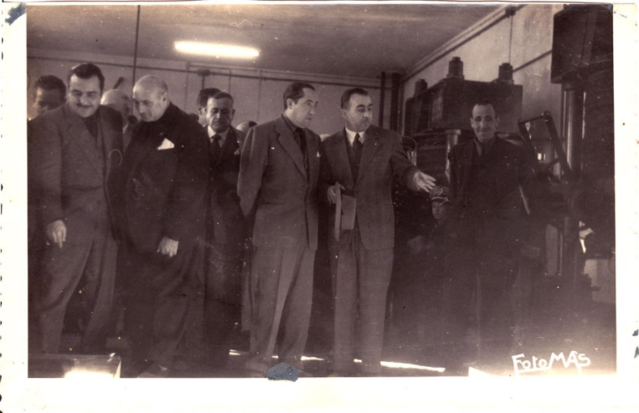 Alguns membres de la banda de música, que contribuiria a solemnitzar l'acte.