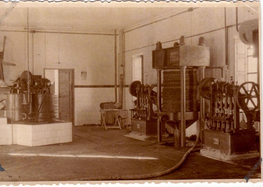 Una altra vista parcial de la maquinària.