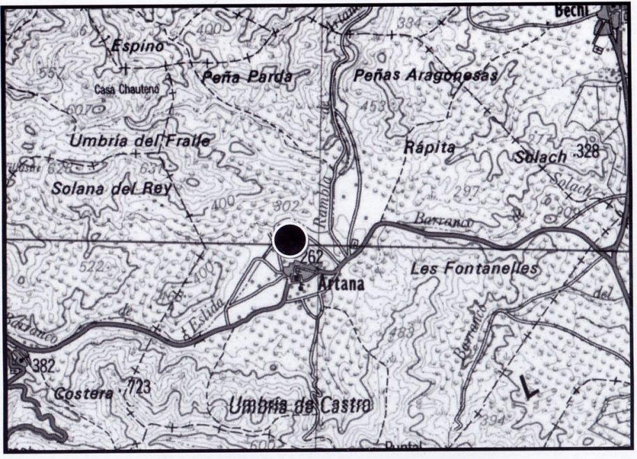 Fig. 4. Situació del Castell