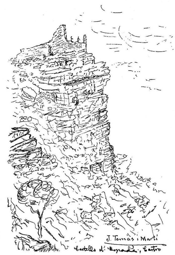 Castells d'Espadà. -Castro, per J. Tomàs i Martí
