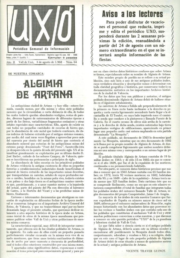 Algimia-Artana