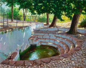 Artana. Font de l'Ermita. Oli sobre llenç. 41x33 cm