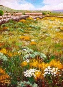 Els Ports. Primavera. Oli sobre llenç. 40x30 cm