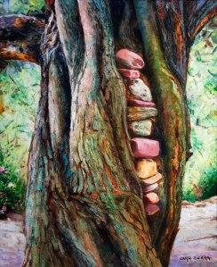 Tronc d'olivera 5. 61x50 cm