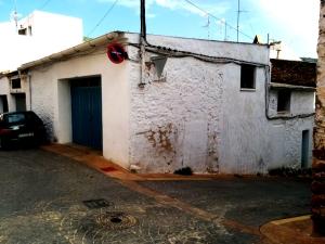 Corral de Pere Gallart al carrer Dalt. La nateixa ubicació que l'anterior