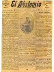 El Abstemio. Órgano de la Liga Antialcohólica Española(1918)