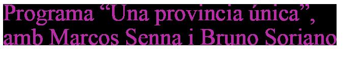 títol-Una-provincia-única