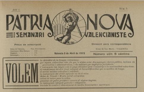 Pàtria Nova 1915